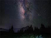山野星空唯美高清壁纸图片