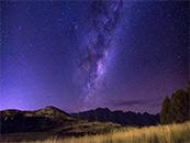 璀璨银河唯美高清星空壁纸图片