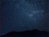 淡雅蔚蓝星空高清壁纸图片
