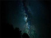 美妙淡绿星空唯美高清壁纸图片
