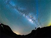 超清夜景星空图片