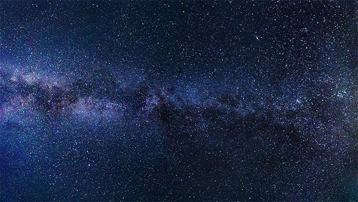 蓝色星空璀璨星星超清唯美壁纸图片