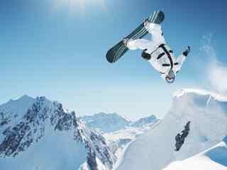 单板极限滑雪壁纸