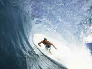 冲浪运动高清桌面壁纸