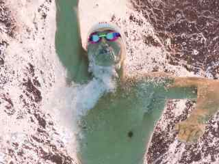里约奥运会孙杨200米自由泳比赛画面壁纸
