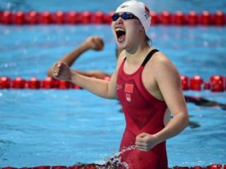 里约奥运会100米女子仰泳季军傅园慧图片