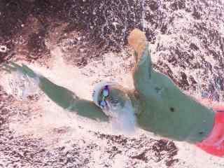 里约奥运会孙杨泳池游泳比赛画面壁纸
