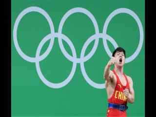 里约奥约会男子举重56公斤级龙清泉图片下载