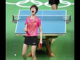 里约奥运会大满贯丁宁比赛图片桌面壁纸