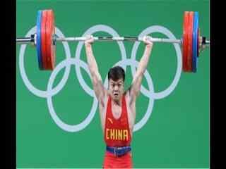 里约奥运会男子56公斤级举重破纪录龙清泉图片
