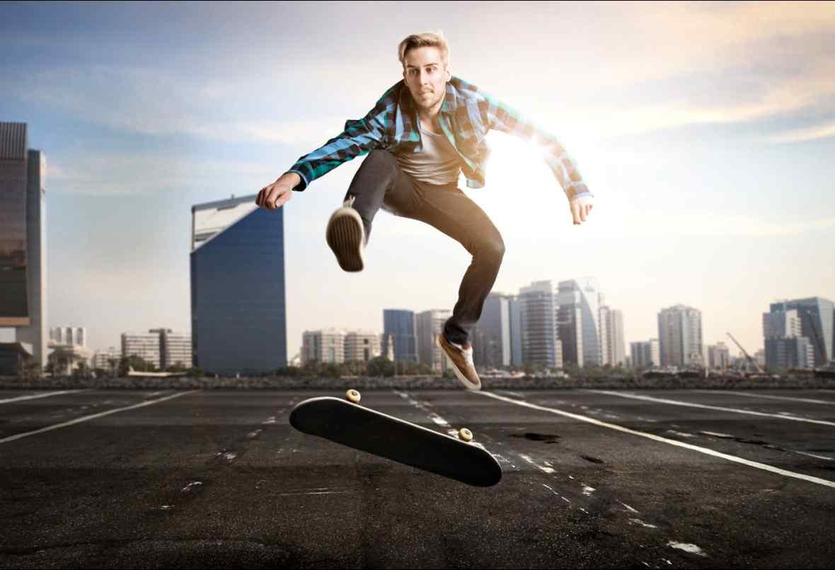 12星座手机壁纸_滑板运动高清图片桌面壁纸 -桌面天下(Desktx.com)
