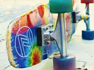 滑板彩色图片桌面