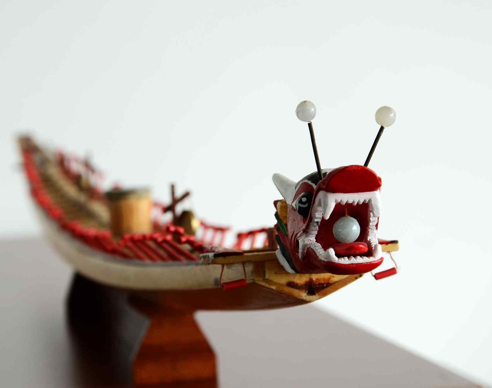 可爱的端午节龙舟