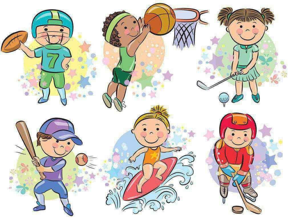 卡通体育人物_体育壁纸