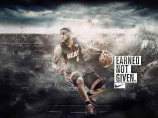 NBA球星勒布朗詹