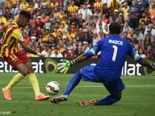 巴塞罗那内马尔精彩进球壁纸
