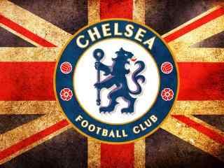 切尔西足球俱乐部高清壁纸国旗版壁纸图片