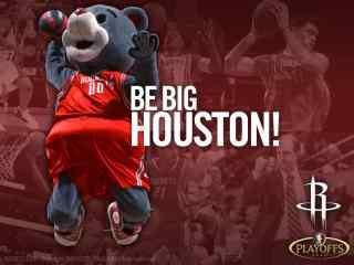 NBA火箭队吉祥物火箭熊高清壁纸