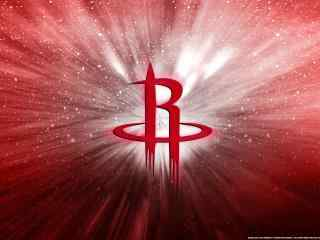 NBA火箭队酷炫标志高清壁纸