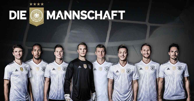 2018世界杯德国队主力球员高清壁纸