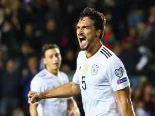 2018世界杯德国队胡梅尔斯高清壁纸