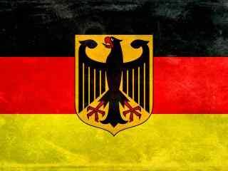2018世界杯德国国旗队徽高清桌面壁纸