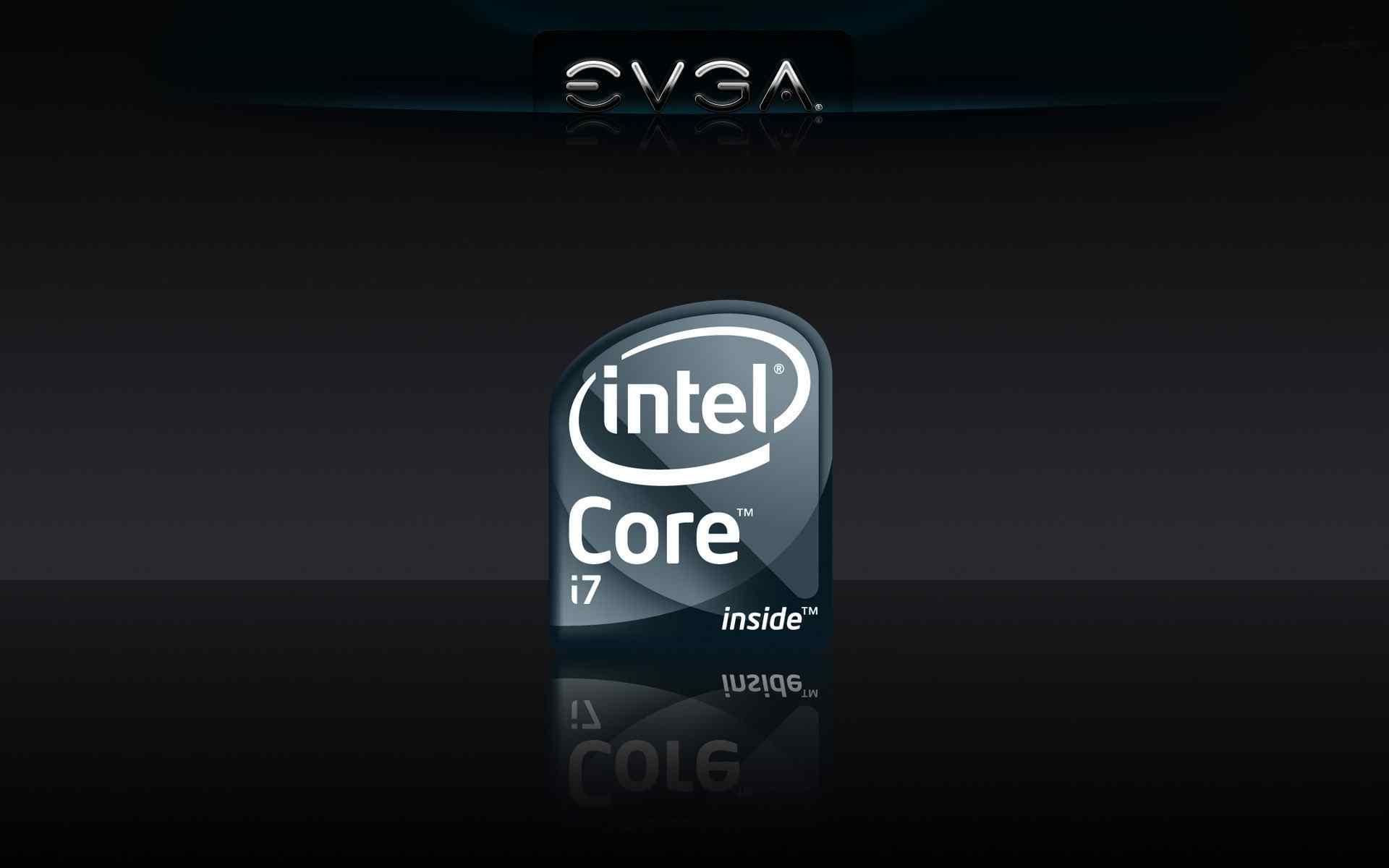 Intel英特尔简约桌面壁纸