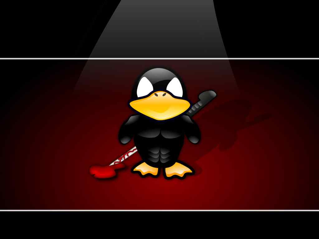 卡通企鹅linux系统,卡通企鹅linux系统壁纸,卡通企鹅_系统壁纸