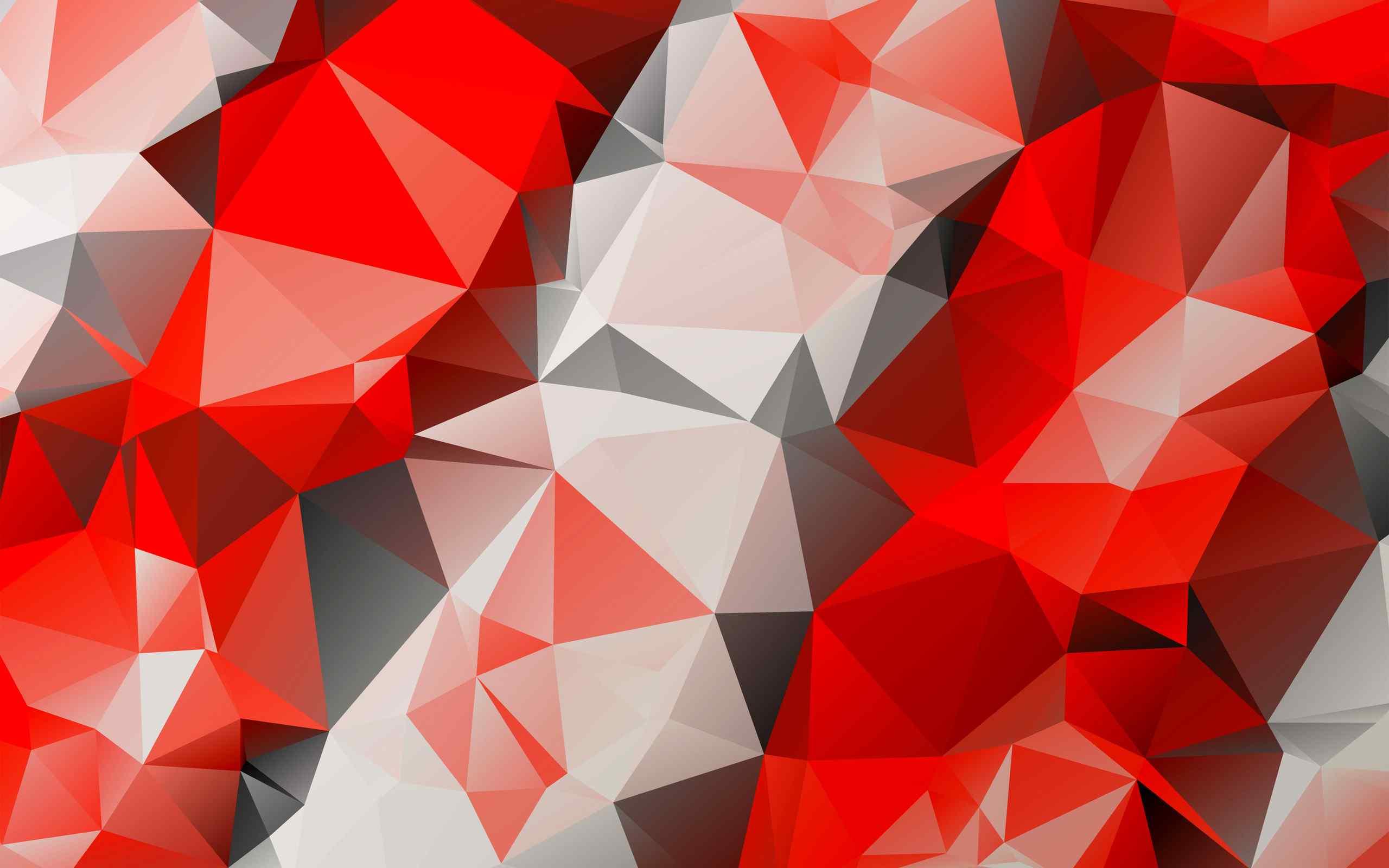 精美的红色纹理桌面壁纸