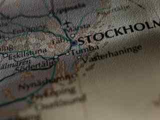 复古版航海地图高清壁纸