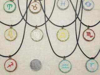 星座项链,摩羯那个送人了,哈_星座壁纸