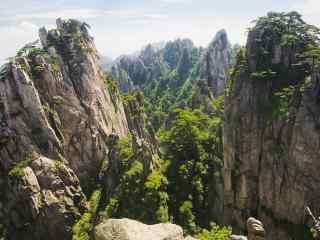 桌面天下安徽黄山风景高清壁纸包(15张)
