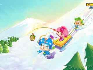 可爱昆塔之滑雪wi