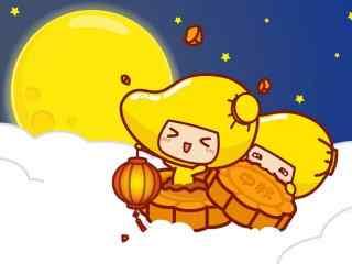 小芒果月饼win8桌